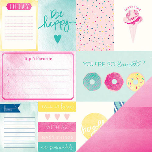 American Crafts - DEAR LIZZY SERENDIPITY - Cotton Candy