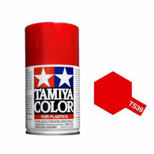 TS39 - Peinture Bombe ROUGE MICA BRILLANT 100ml Tamiya Maquette