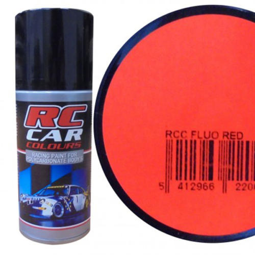 RC1005 - Peinture Bombe ROUGE FLUO 150ml RC Cars