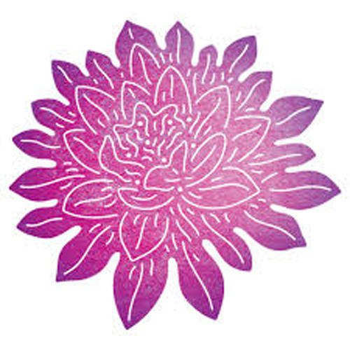 Dies Cheery Lynn Designs - Lotus Flower B697