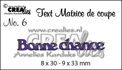 Dies Crealies - BONNE CHANCE cltm06