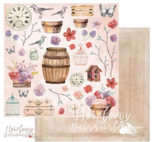 Papier 49 MARKET - Heirloom Botanicals CUT OUTS 84956