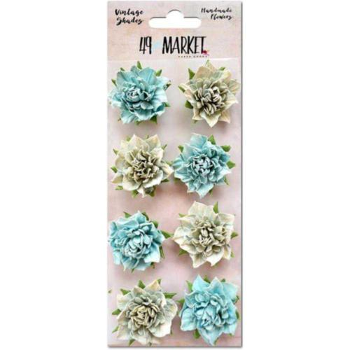Fleurs en Papier - Vintage BLUES 49 Markets