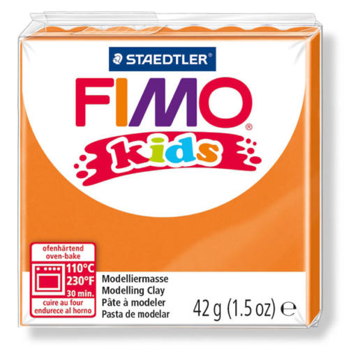 FIMO KIDS - Pâte Fimo Orange 4