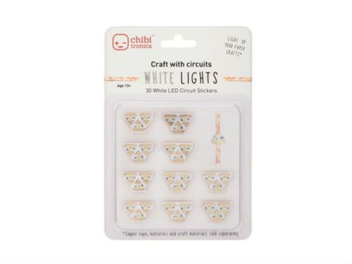 LED STICKERS BLANC pour Carterie - LED CHIBITRONICS