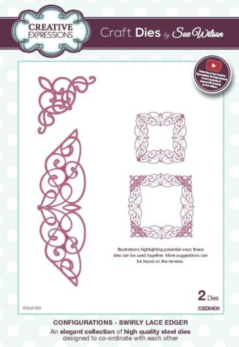 Dies Creative Expressions - CONFIGURATIONS  Swirly Lace Edger