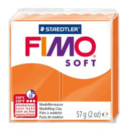 FIMO SOFT - Pâte Fimo ORANGE MANDARINE 042