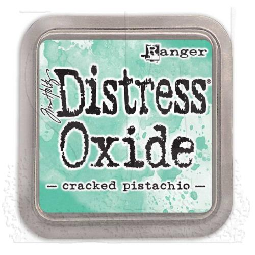 Encre Distress Oxide - CRACKED PISTACHIO Ranger Ink by Tim Holtz