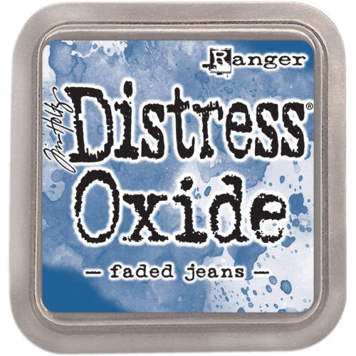 Encre Distress Oxide - FADED JEANS Ranger Ink by Tim Holtz