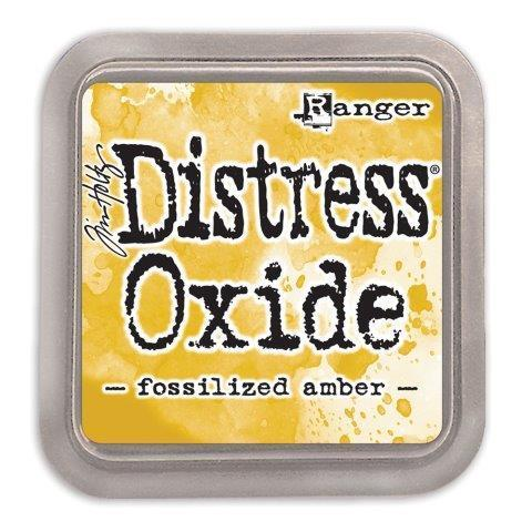 Encre Distress Oxide - FOSSILIZED AMBER Ranger Ink by Tim Holtz