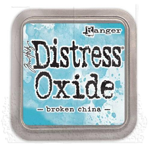 Encre Distress Oxide - BROKEN CHINA Ranger Ink by Tim Holtz