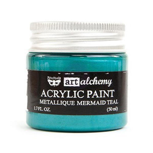 Peinture Acrylique Métallique Art Alchemy MERMAID TEAL Prima Marketing