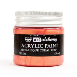 Peinture Acrylique Métallique Art Alchemy CORAL REEF Prima Marketing