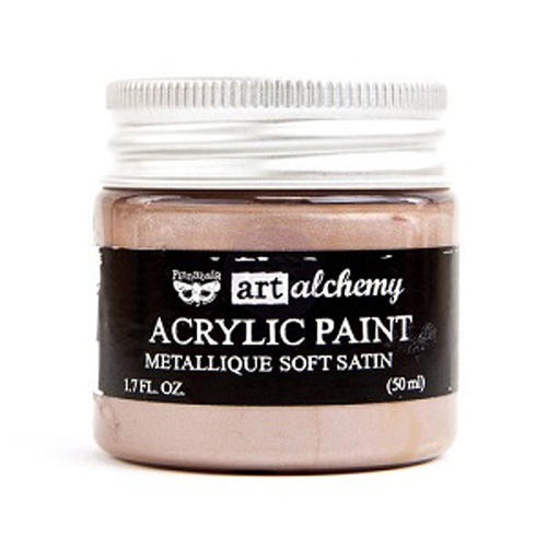 Peinture Acrylique Métallique Art Alchemy SOFT SATIN Prima Marketing