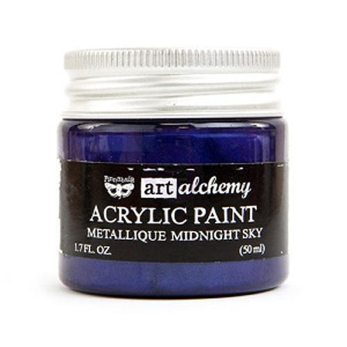 Peinture Acrylique Métallique Art Alchemy MIDNIGHT SKY Prima Marketing