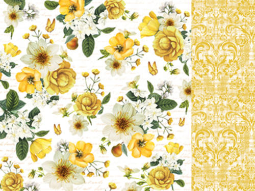 Kaisercraft - Golden Grove - Gold Dahlia