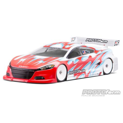1/10ème PISTE 190mm - Carrosserie DODGE DART Light Non Peinte Protoform