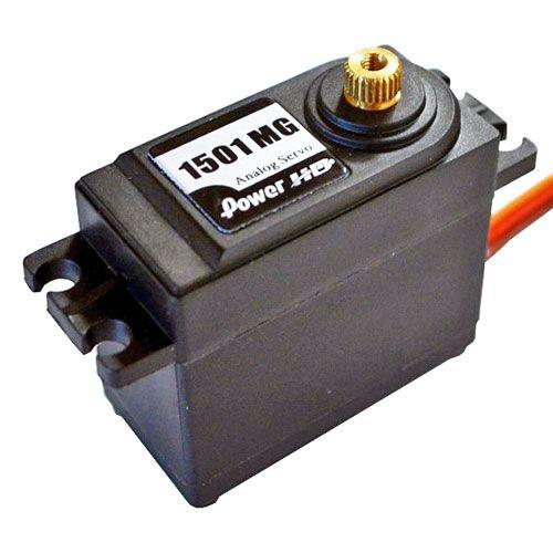 Servo Power HD1501MG - 17kg 0.14sec 6V