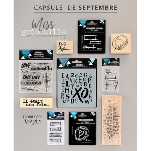 Pack Capsule Septembre Florilèges Design - MISS GRIBOUILLE