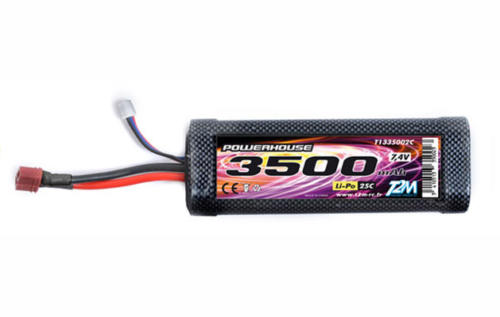Accu LIPO Stick Pack 2S 3500mAh 7.4V 25C -Powerhouse