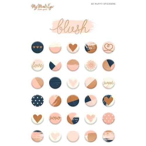 Puffy Stickers - BLUSH My Mind's Eye