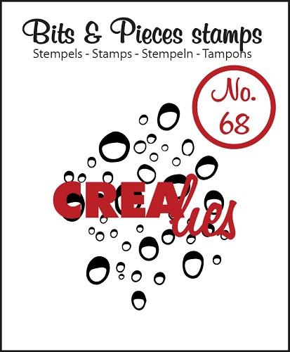 Tampon Clear Crealies - Gouttes Drops 68