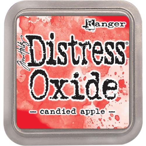 Encre Distress Oxide - CANDIED APPLE Ranger Ink by Tim Holtz
