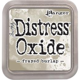 Encre Distress Oxide - FRAYED BURLAP Ranger Ink by Tim Holtz