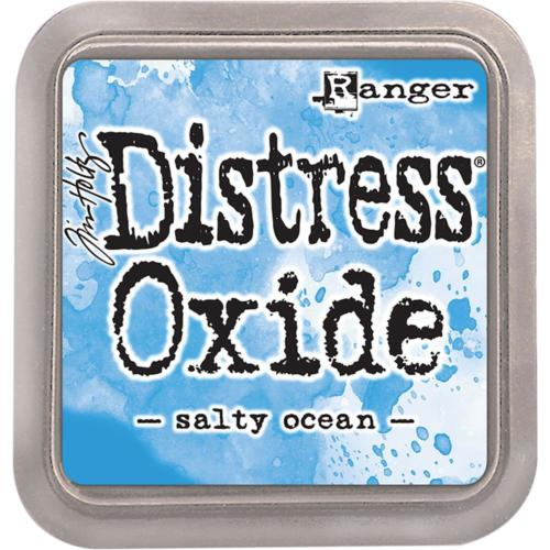 Encre Distress Oxide - SALTY OCEAN Ranger Ink by Tim Holtz