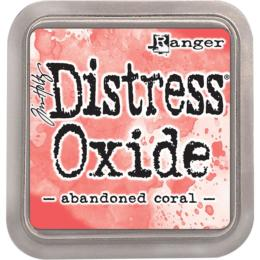 Encre Distress Oxide - ABANDONNED CORAL Ranger Ink by Tim Holtz