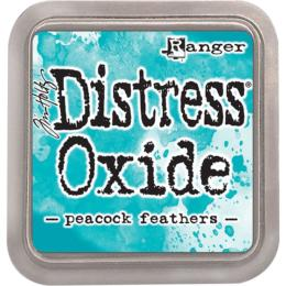 Encre Distress Oxide - PEACOCK FEATHERS Ranger Ink by Tim Holtz
