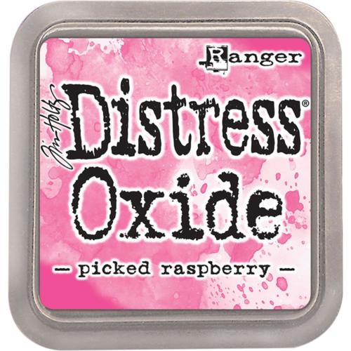Encre Distress Oxide - PICKED RASPBERRY Ranger Ink by Tim Holtz
