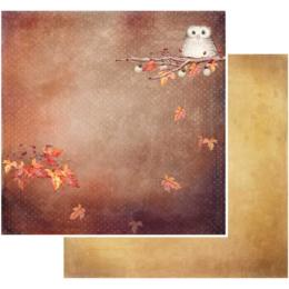 Papier 49 MARKET -Rusty Autumn - FALLING LEAVES 86851