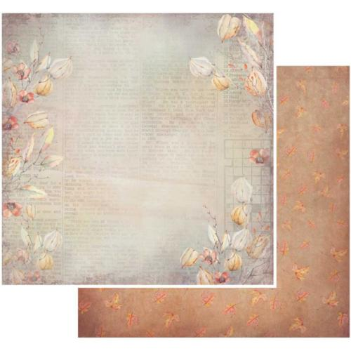 Papier 49 MARKET -Rusty Autumn - CAPTIVATING 86820