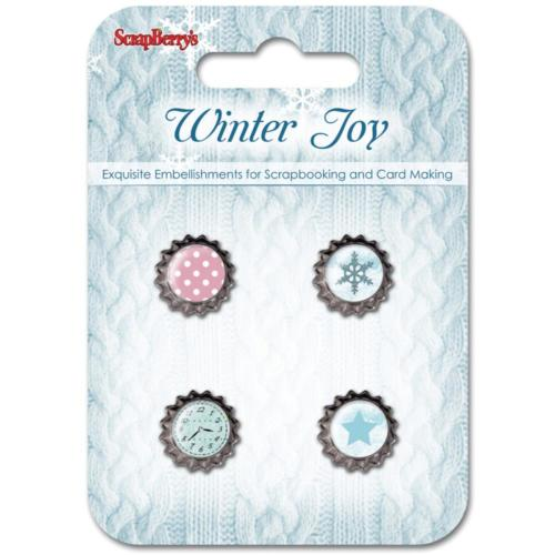 ScrapBerry's - Mini Capsule Shabby WINTER JOY