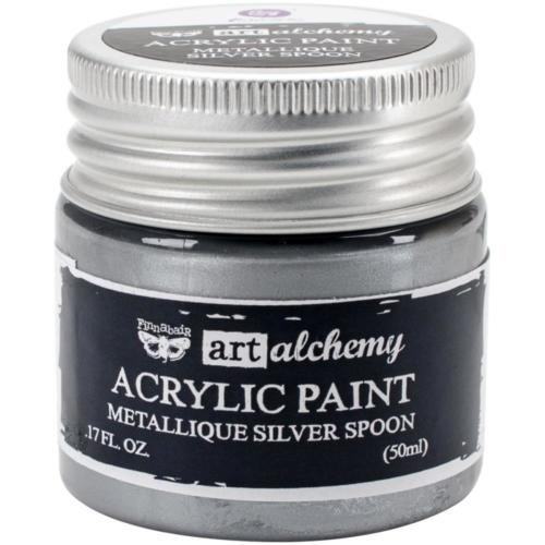 Peinture Acrylique Métallique Art Alchemy SILVER SPOON Prima Marketing