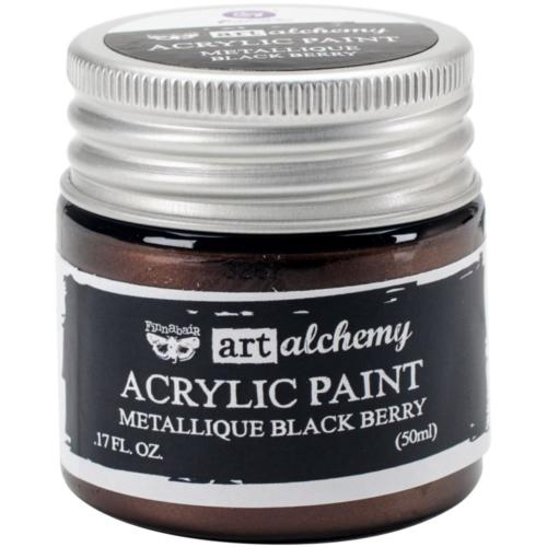 Peinture Acrylique Métallique Art Alchemy BLACK BERRY Prima Marketing