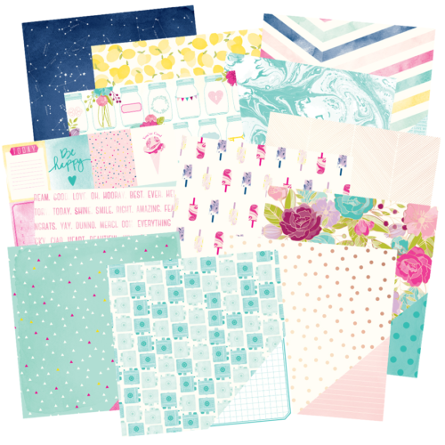 -30% Paper Pad 12x12  - SERENDIPITY American Crafts