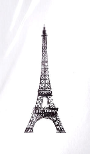 -30% Tampon Caoutchouc - TOUR EIFFEL SMALL  BLine Designs