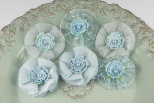 -30% Prima Marketing : Fleurs BRONTE POWDER BLUE