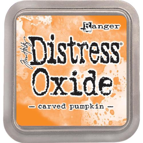 Encre Distress Oxide - CARVED PUMPKIN Ranger Ink by Tim Holtz