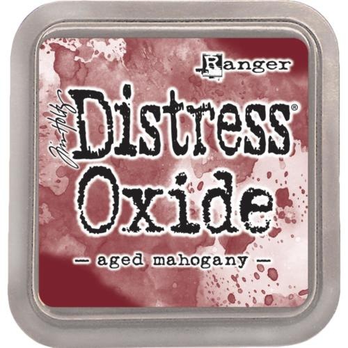 Encre Distress Oxide - AGED MAHOGANY Ranger Ink by Tim Holtz