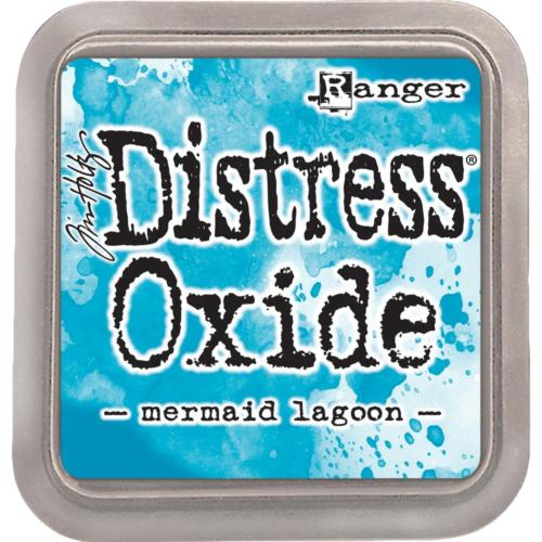 Encre Distress Oxide - MERMAID LAGOON Ranger Ink by Tim Holtz