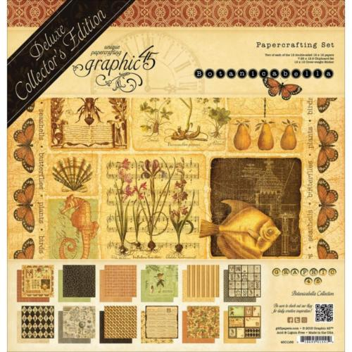 Graphic 45 - Pack Deluxe Collector's BOTANICABELLA