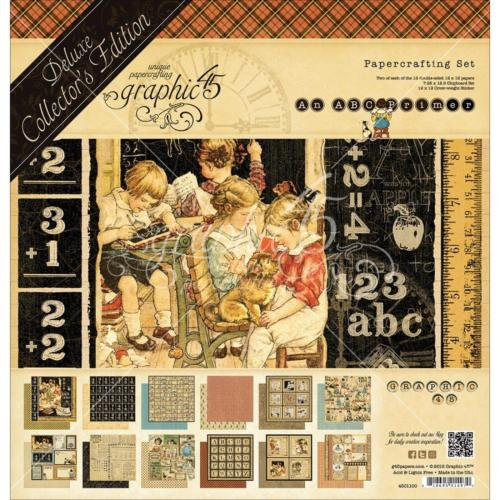 Graphic 45 - Pack Deluxe Collector's AN ABC PRIMER