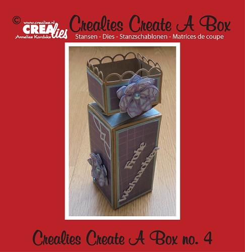 Dies Crealies - Create A Box N°04