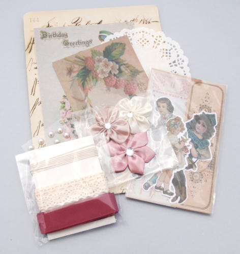 MINI KIT ALBUM - Victorian Kit Melissa Frances