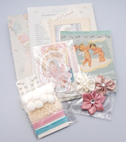 MINI KIT ALBUM - Baby Kit Melissa Frances