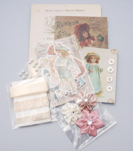 MINI KIT ALBUM - Childhood Kit Melissa Frances