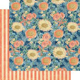 Graphic 45 - Sun Kissed - Floating Floral